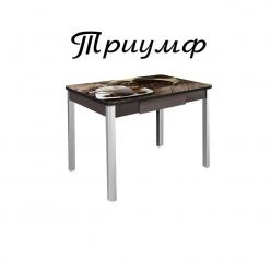 Стол ТРИУМФ 1,00 не раздвижной с ящиком 70х100