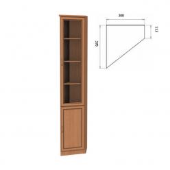 "Шкаф для книг Арт 208 Гарун ""Уют Сервис """