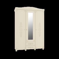 Модуль АС 27  Шкаф трёхстворчатый с зеркалом