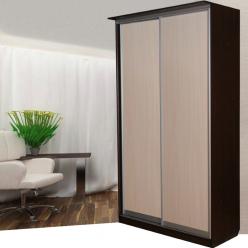 Шкаф-купе: 2 двери,ширина 1000