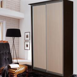 Шкаф-купе: 2 двери,ширина 1100