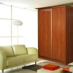 Шкаф-купе: 2 двери,ширина 1300