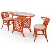 Набор для завтрака Breakfast с подушками (2 кресла, журнальный столик)