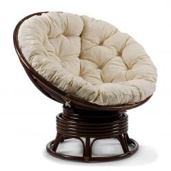 Кресло вращающееся Папасан МИ без подушки