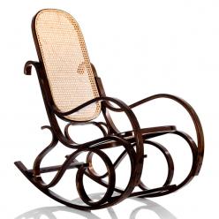 Кресло-качалка Формоза ротанг орех