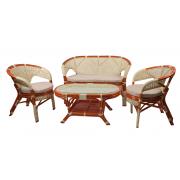 Набор для отдыха Pelangi (Диван, 2 кресла, журнальный столик)
