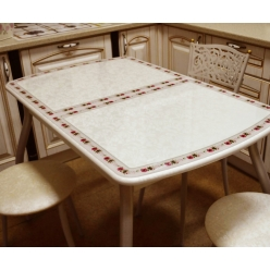 Стол раздвижной М38 Альба стекло