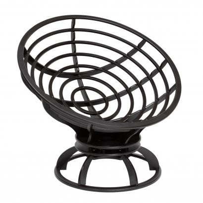 Кресло вращающееся Папасан МИ без подушки ,  Импэкс
