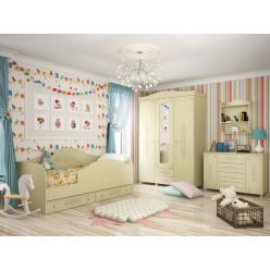 Гарнитур Ассоль Плюс Набор мебели для детской 0001GRK-015-002