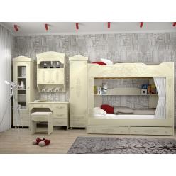 Гарнитур Ассоль Плюс Набор мебели для детской 0001GRK-002-001