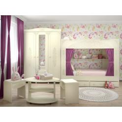 Гарнитур Ассоль Плюс Набор мебели для детской 0001GRK-008-001
