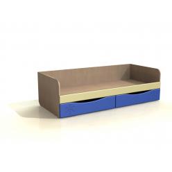 Кровать с ящиками ДК 11