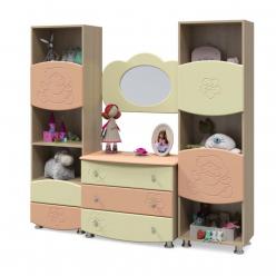 Набор детской мебели Капитошка №15